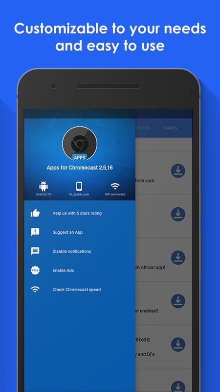app para chromecast