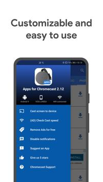 Apps for Chromecast screenshot 4