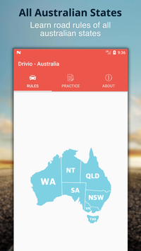Drivio - Australian road rules and theory tests poster