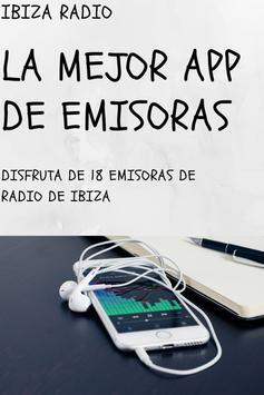 IBIZA RADIO GRATIS poster