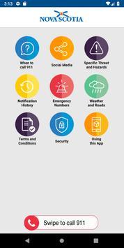 Nova Scotia Provincial Employee Emergency Guide screenshot 1