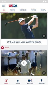 2020U.S. Open Golf Championship poster