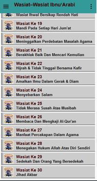Wasiat Ibnu 'Arabbi screenshot 13