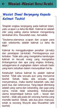 Wasiat Ibnu 'Arabbi screenshot 14
