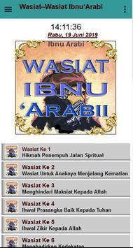 Wasiat Ibnu 'Arabbi screenshot 1