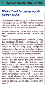 Wasiat Ibnu 'Arabbi screenshot 3