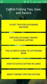 Catfish Fishing poster
