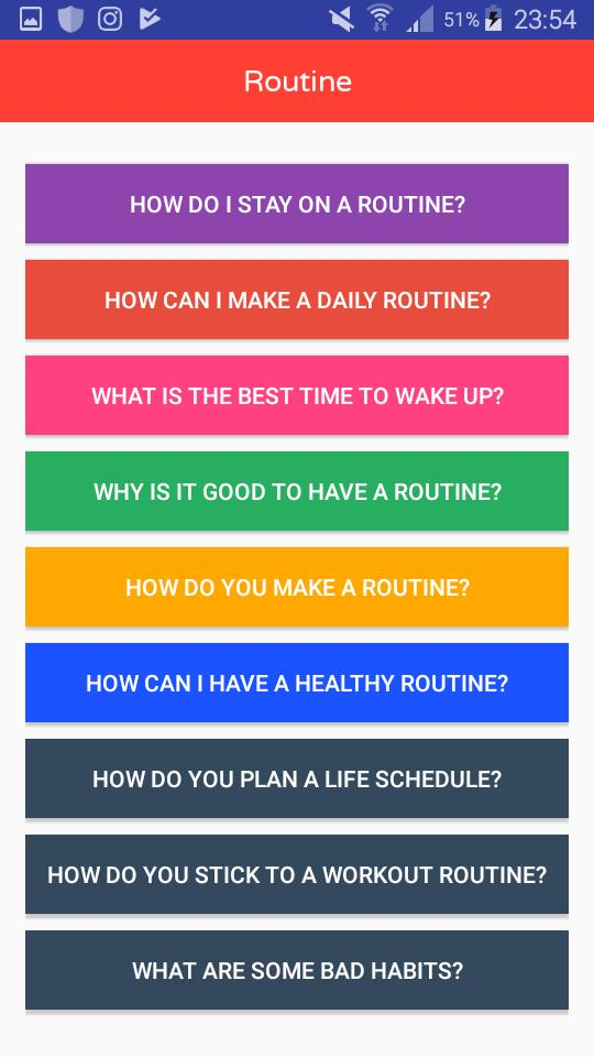 Routine for Android - APK Download