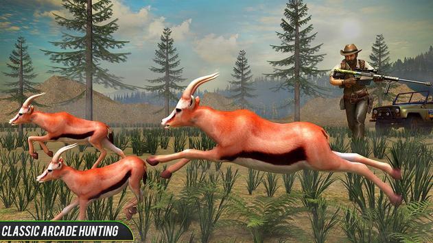 Jungle Deer Sniper Hunting poster