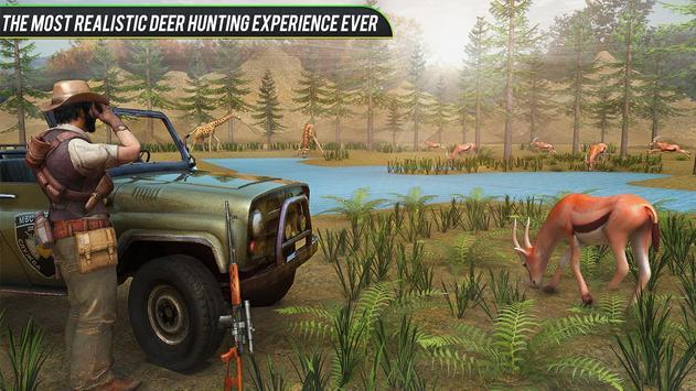 Jungle Deer Sniper Hunting screenshot 1
