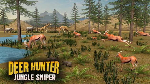 Jungle Deer Sniper Hunting screenshot 2