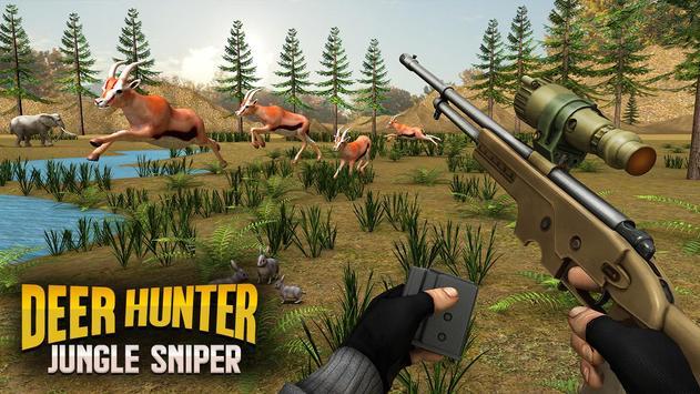 Jungle Deer Sniper Hunting screenshot 3
