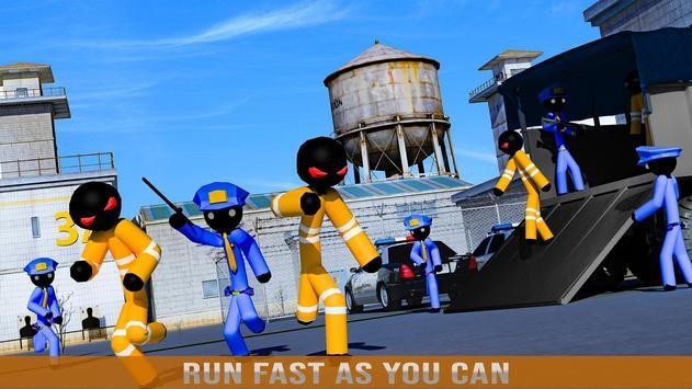 Stickman Jail Escape Survival Stealth Mission screenshot 10