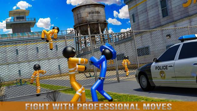 Stickman Jail Escape Survival Stealth Mission screenshot 11