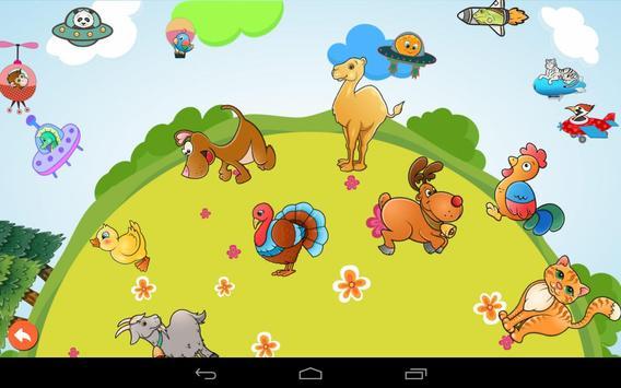 Puzzle enfant en tout-petits - Animaux capture d'écran 12
