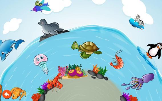 Puzzle enfant en tout-petits - Animaux capture d'écran 4