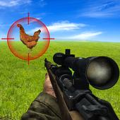 Bird Hunting Chicken Shooting Aim Wild Hen Hunt icon