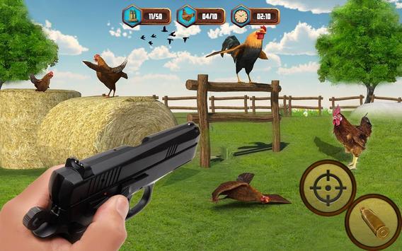 Bird Hunting Chicken Shooting Aim Wild Hen Hunt screenshot 10