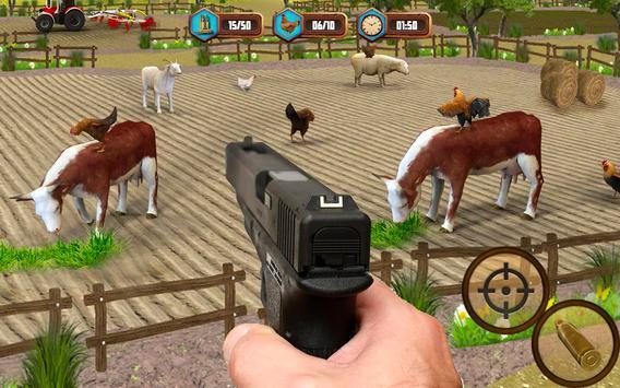 Bird Hunting Chicken Shooting Aim Wild Hen Hunt screenshot 1