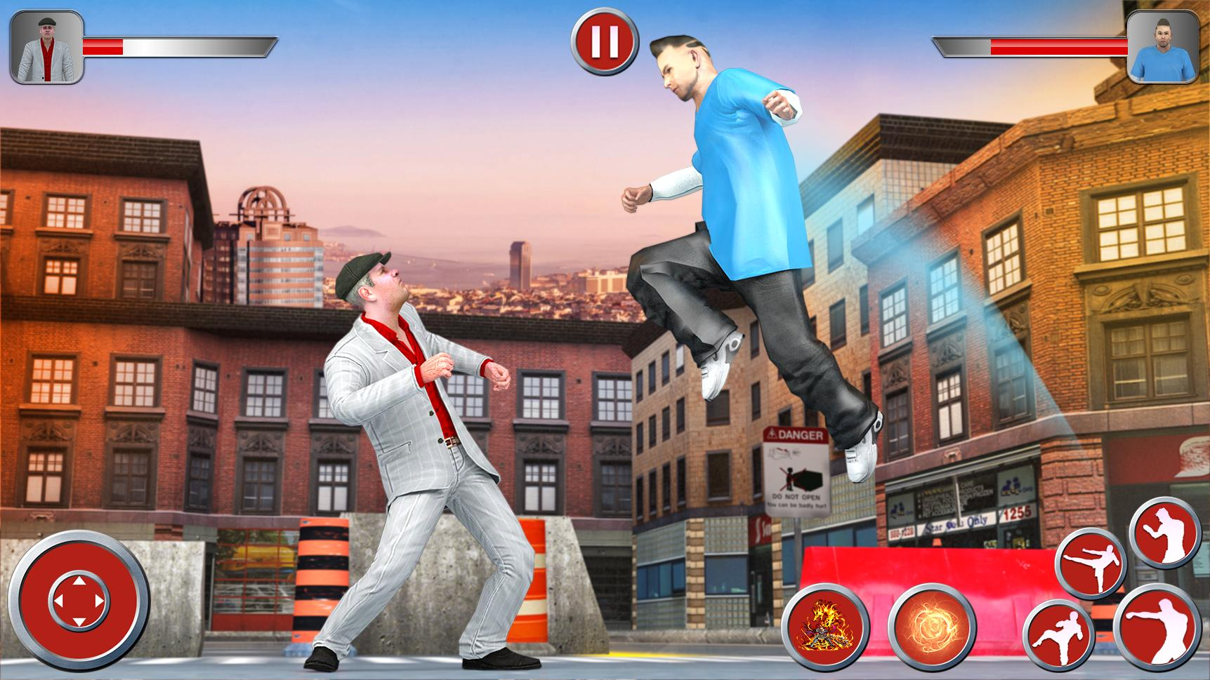 Superhero Karate Fighting Manager Fighter Kick For Android Apk