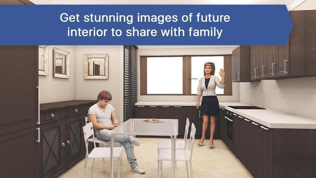 3D Kitchen Design for IKEA: Room Interior Planner screenshot 2