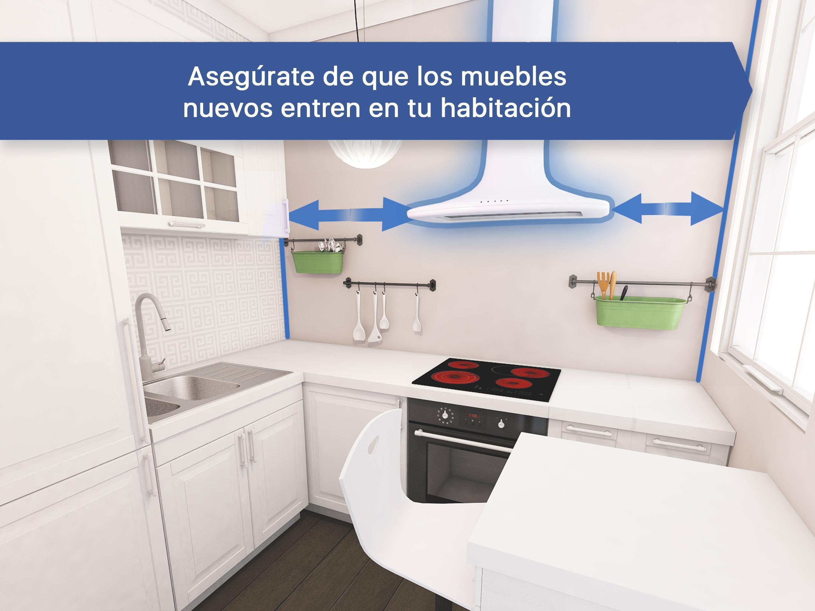 3D Diseñador de cocina para IKEA: iCanDesign for Android ...