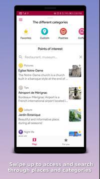 Mappity: Bordeaux travel guide, tramway & walks screenshot 5