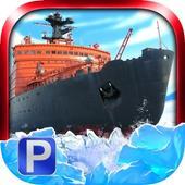Icebreaker Boat Simulator Parking Games 2017 icon