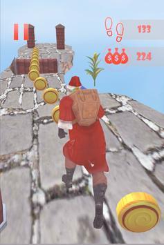 Santa Sky Dance Runner : Christmas Rush screenshot 3