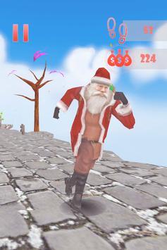 Santa Sky Dance Runner : Christmas Rush poster