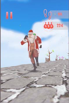 Santa Sky Dance Runner : Christmas Rush screenshot 1