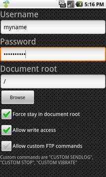 FTP Server Ultimate screenshot 3