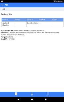 CTCAE plus (v5.0+v4.03+v3.0) ảnh chụp màn hình 12
