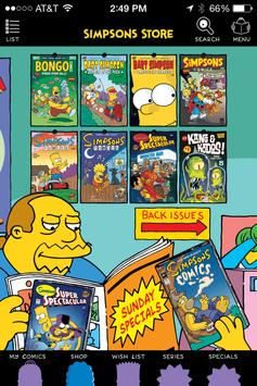 Simpsons Store poster