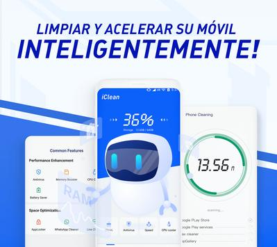 iClean - Acelerador, Super limpio virus, Master Poster