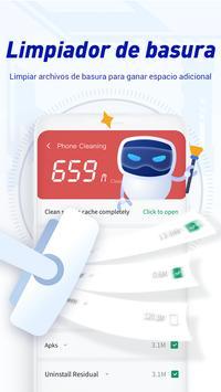iClean - Acelerador, Super limpio virus, Master captura de pantalla 1