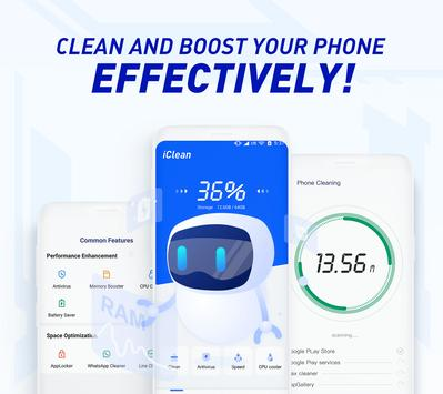 iClean - Booster, Super Virus Cleaner, Master poster