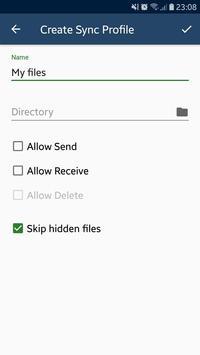 Arise File Syncer screenshot 1