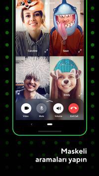 ICQ: görüntülü konuşma ve sohbet. Messenger & Chat Ekran Görüntüsü 5