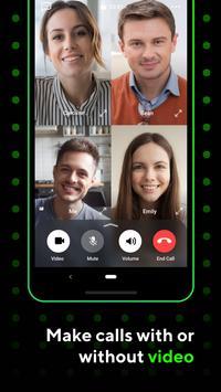 ICQ: Messenger, chats y videollamadas grupales captura de pantalla 4
