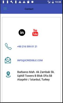 iCredible Corporate App poster