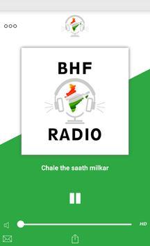 BHF Radio poster