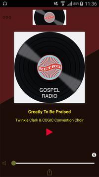Retro Gospel Radio poster