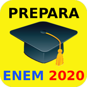 Prepara ENEM 2020 (Simulado e Redação) icon