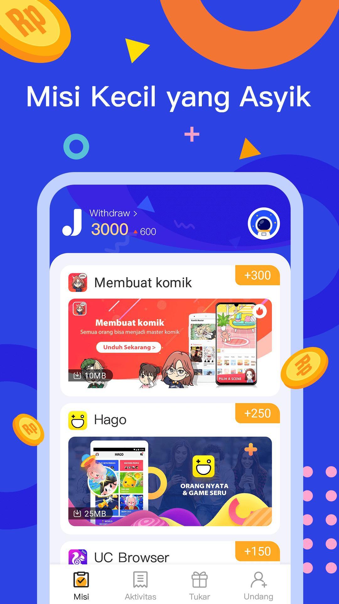 Jadiduit Free Dapat Uang Data Dan Gift For Android Apk Download