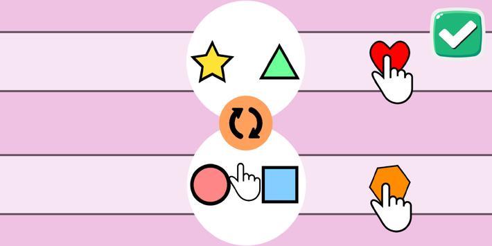 💥Pop Shapes⭐ - Free Addictive Hard Games To Play screenshot 1