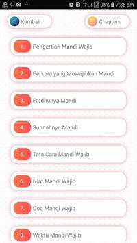 Tata Cara Mandi Wajib screenshot 2