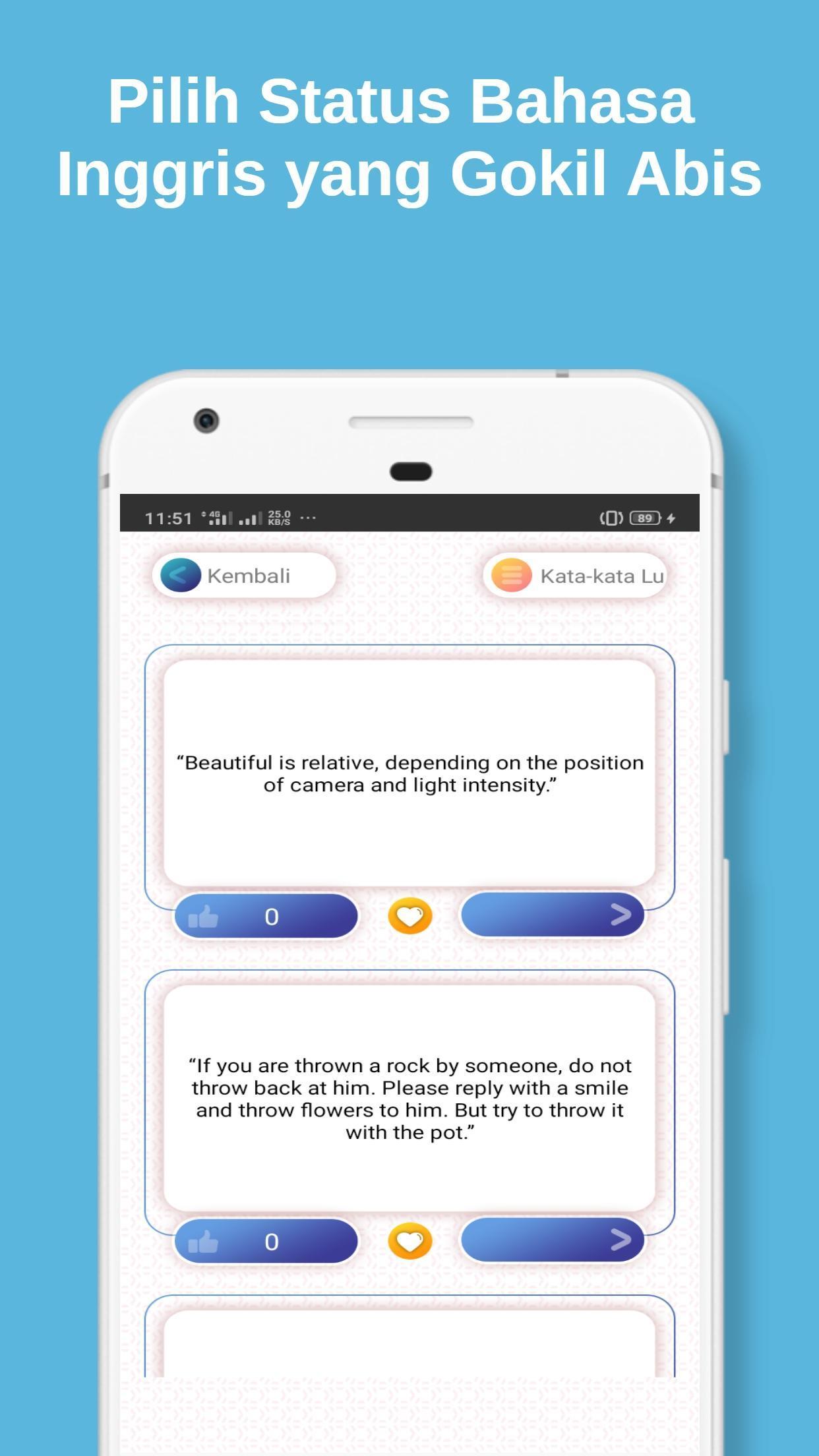 Update Status Wa Lucu dan Keren di Medsos for Android ...