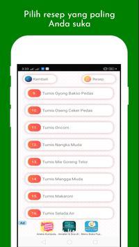 Aneka Resep Tumis screenshot 1