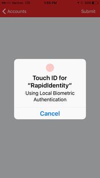 3 Schermata RapidIdentity